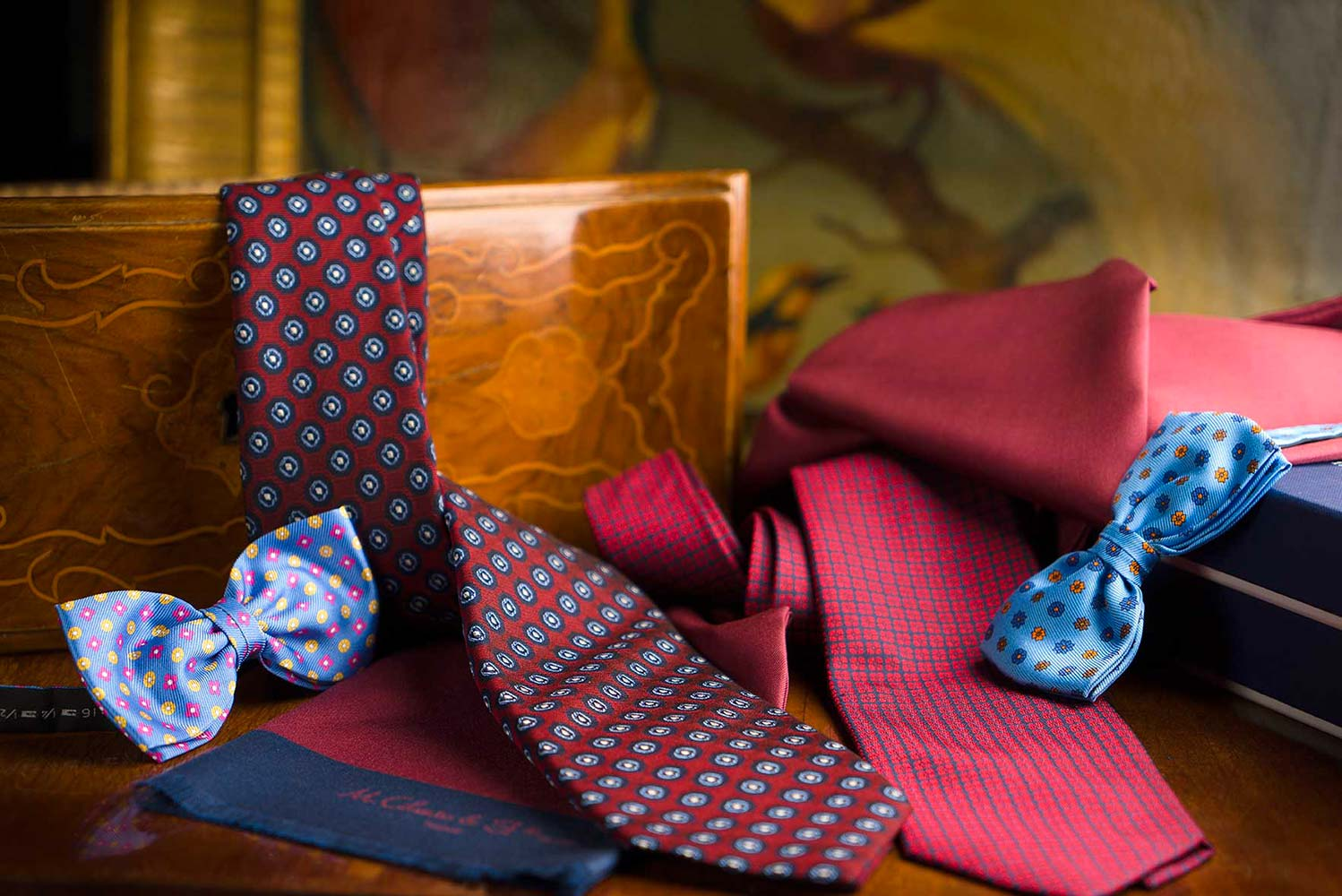 Ties and papillon