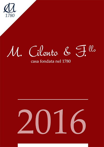 Press review 2016, M. Cilento & F.llo