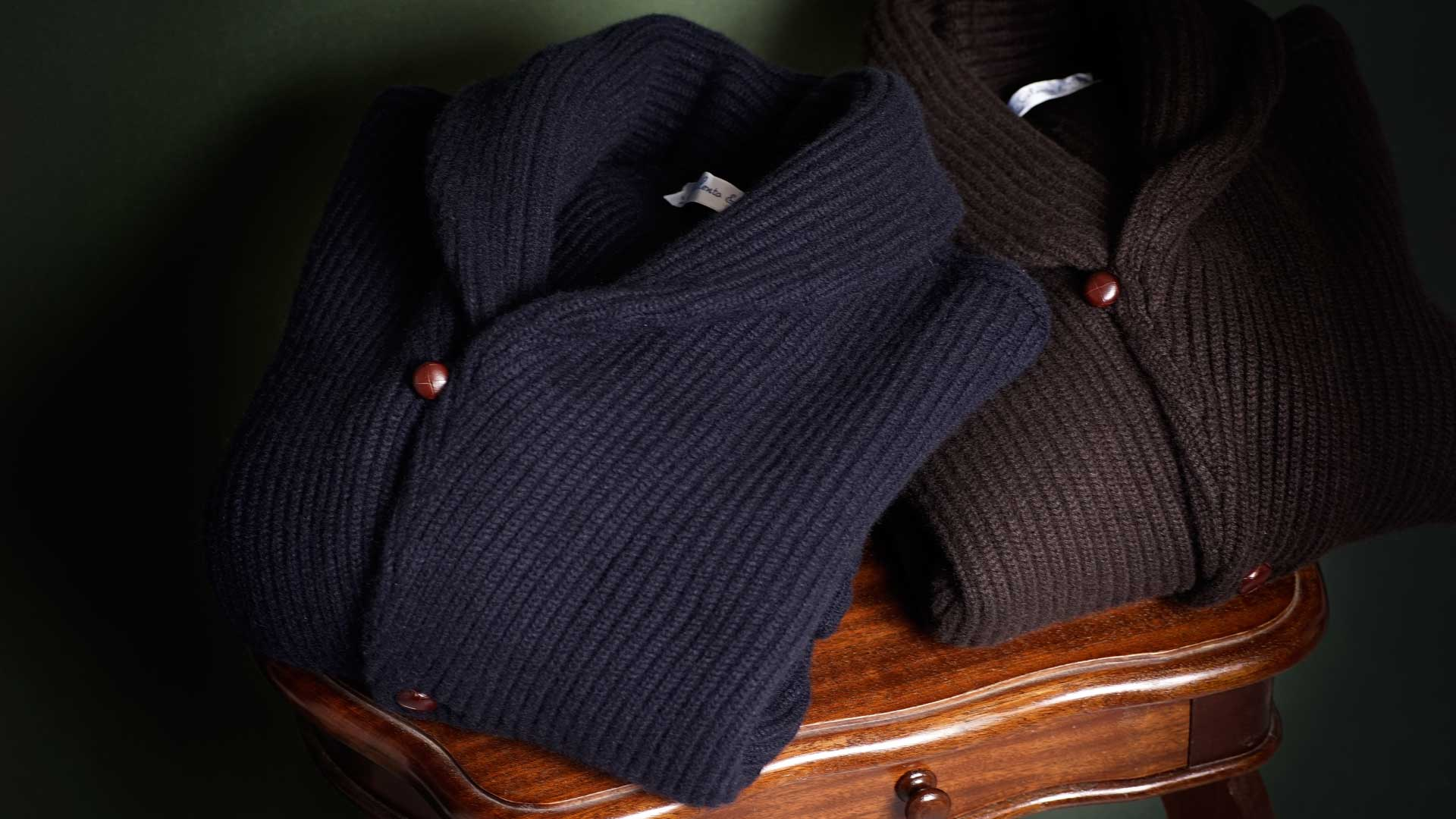 Cilento 1780 - Cardigan in cashmere